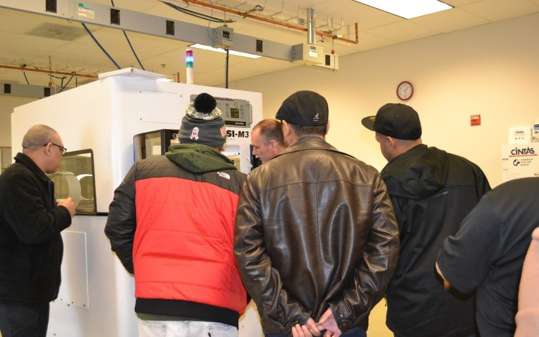 Technology Students Experience Local Advanced Technology Manufacturer Up Close