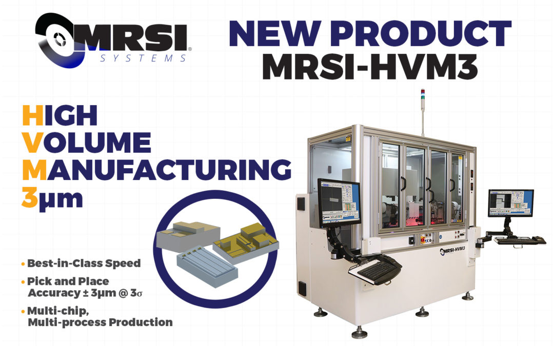 Visit MRSI Systems at the European Conference on Optical Communications (ECOC) 2017 — New Die Bonder for High Volume Manufacturing